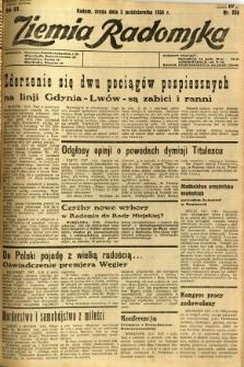 Ziemia Radomska, 1934, R. 7, nr 226