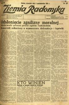 Ziemia Radomska, 1934, R. 7, nr 227