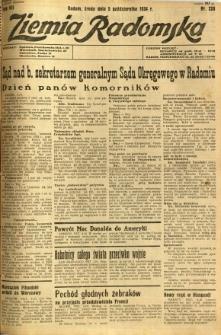 Ziemia Radomska, 1934, R. 7, nr 228