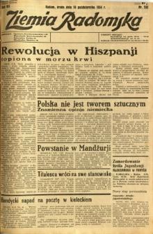 Ziemia Radomska, 1934, R. 7, nr 232