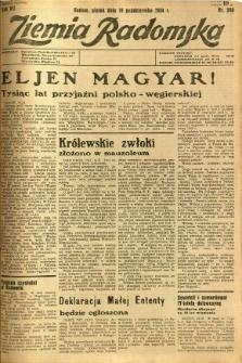 Ziemia Radomska, 1934, R. 7, nr 240