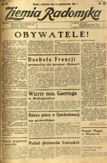 Ziemia Radomska, 1934, R. 7, nr 242