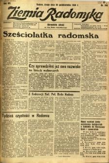 Ziemia Radomska, 1934, R. 7, nr 244