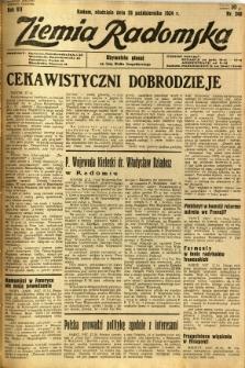 Ziemia Radomska, 1934, R. 7, nr 248