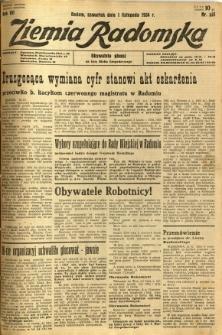 Ziemia Radomska, 1934, R. 7, nr 251