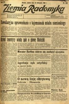 Ziemia Radomska, 1934, R. 7, nr 269