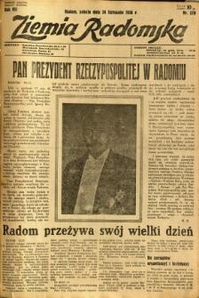 Ziemia Radomska, 1934, R. 7, nr 270