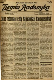 Ziemia Radomska, 1934, R. 7, nr 271