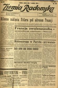 Ziemia Radomska, 1934, R. 7, nr 276