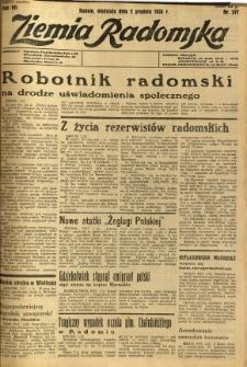 Ziemia Radomska, 1934, R. 7, nr 277