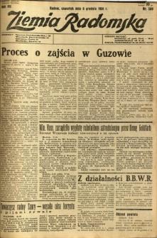 Ziemia Radomska, 1934, R. 7, nr 280