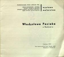 Wystawa malarstwa Władysława Paciaka z Radomia