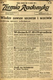 Ziemia Radomska, 1934, R. 7, nr 288