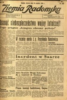 Ziemia Radomska, 1934, R. 7, nr 289