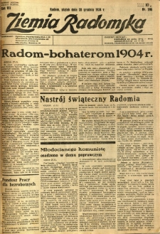 Ziemia Radomska, 1934, R. 7, nr 296