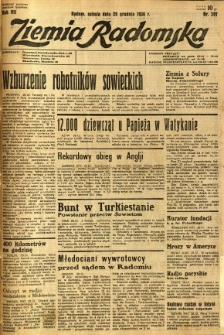 Ziemia Radomska, 1934, R. 7, nr 297