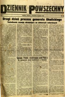 Dziennik Powszechny, 1945, R. 1, nr 36