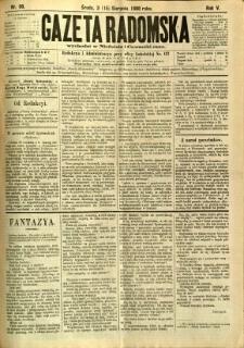 Gazeta Radomska, 1888, R. 5, nr 66