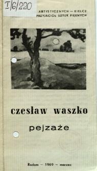 Czesław Waszko. Pejzaże