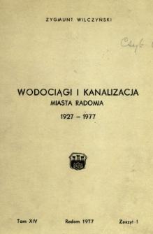 Biuletyn Kwartalny Radomskiego Towarzystwa Naukowego, 1977, T. 14, z. 1