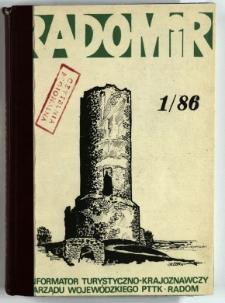 Radomir, 1986, R. 2, nr 1