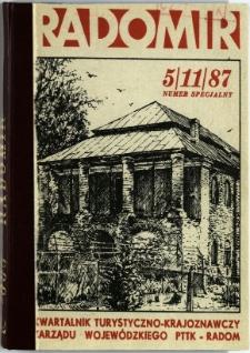 Radomir, 1987, R. 3, nr 5