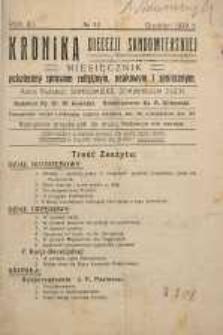 Kronika Diecezji Sandomierskiej, 1919, R. 12, nr 12