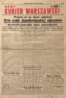 Nowy Kurjer Warszawski, 1941, nr 88