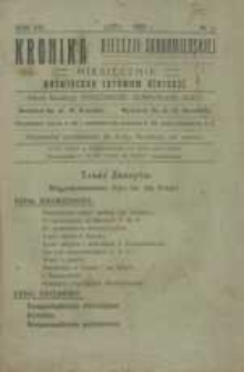 Kronika Diecezji Sandomierskiej, 1920, R. 13, nr 2