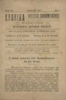 Kronika Diecezji Sandomierskiej, 1920, R. 13, nr 4