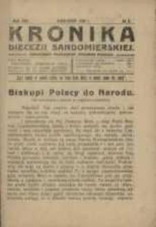 Kronika Diecezji Sandomierskiej, 1920, R. 13, nr 9