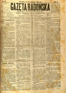 Gazeta Radomska, 1888, R. 5, nr 94