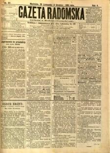 Gazeta Radomska, 1888, R. 5, nr 97