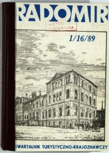 Radomir, 1989, R. 5, nr 1