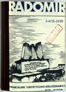 Radomir, 1989, R. 5, nr 3-4