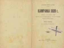 Kampania 1908 r. : raport o działalności armii pozostającej pod rozkazami ks. J. Poniatowskiego podczas kampanii 1809 r.