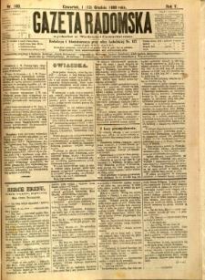 Gazeta Radomska, 1888, R. 5, nr 100