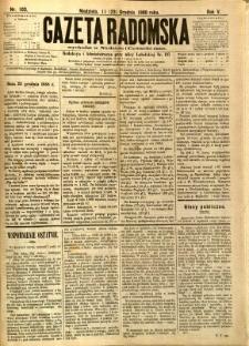 Gazeta Radomska, 1888, R. 5, nr 103