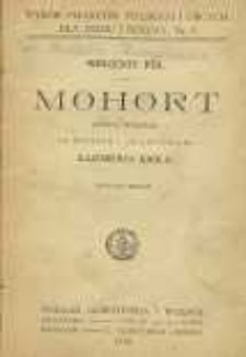 Mohort : rapsod rycerski