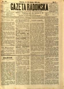 Gazeta Radomska, 1888, R. 5, nr 104