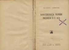 Konfederacja narodu polskiego w r. 1876