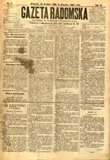 Gazeta Radomska, 1889, R. 6, nr 3