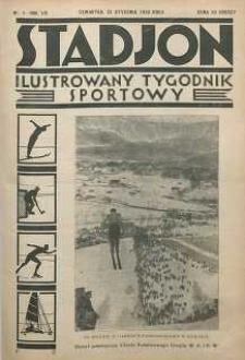 Stadjon : Ilustrowany Tygodnik Sportowy, 1930, R. 8, nr 4
