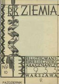 Ziemia, 1933, R. 23, nr 10