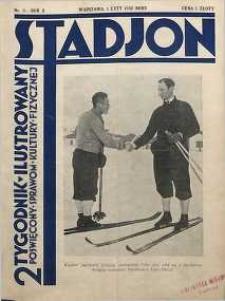 Stadjon : Ilustrowany Tygodnik Sportowy, 1932, R. 10, nr 3