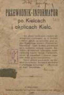 Przewodnk - Informator po Kielcach i okolicach Kielc