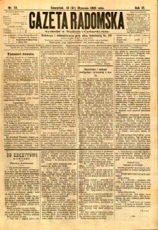 Gazeta Radomska, 1889, R. 6, nr 10