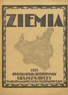 Ziemia, 1929, R. 14, nr 19