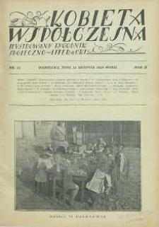 Kobieta współczesna : Ilustrowany tygodnik społeczno-literacki, 1928, R. 2, nr 33