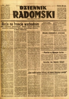 Dziennik Radomski, 1942, R. 3, nr 64
